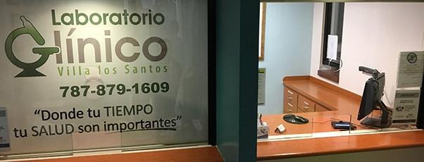 Laboratorio Clínico Villa los Santos - Recepción