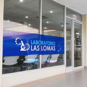 Laboratorio Las Lomas - Entrada del sucursal