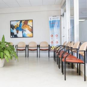 Laboratorio Las Lomas - Área de espera