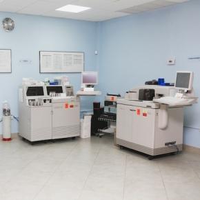 Laboratorio Las Lomas - Área de análisis