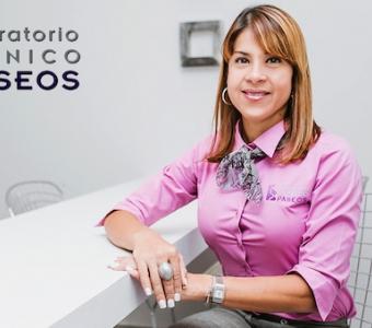 Lcda. Lina Garcia  - Tecnólogo Médico, Lab. Paseos I & II